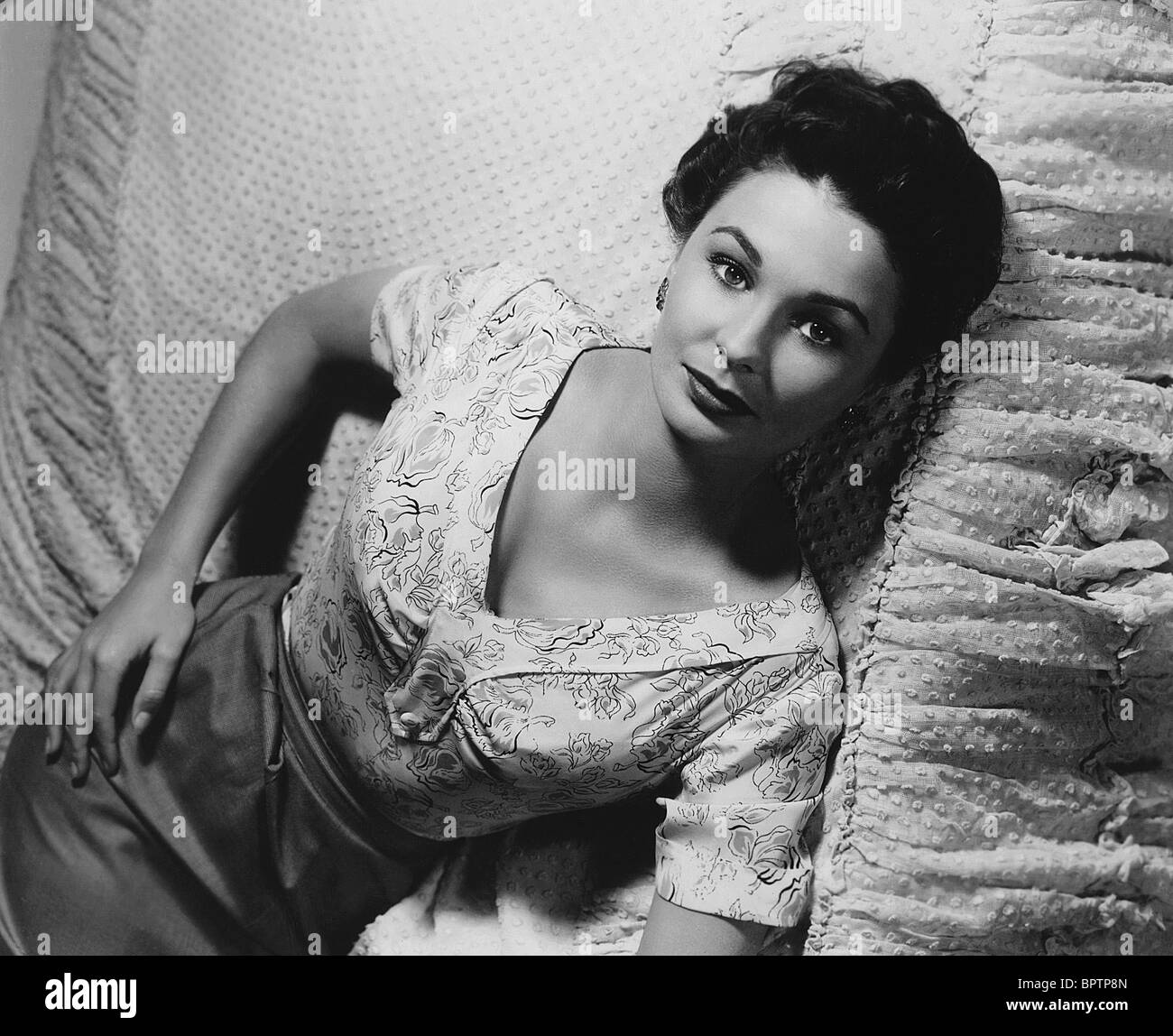 JEAN SIMMONS ACTRESS (1956) - Stock Image