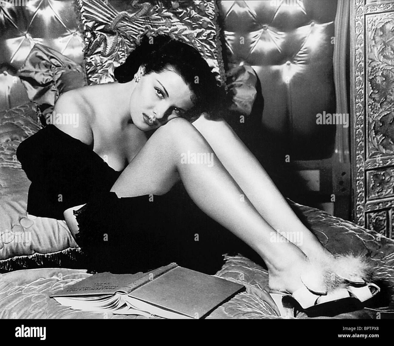 JANE RUSSELL ACTRESS (1940) - Stock Image