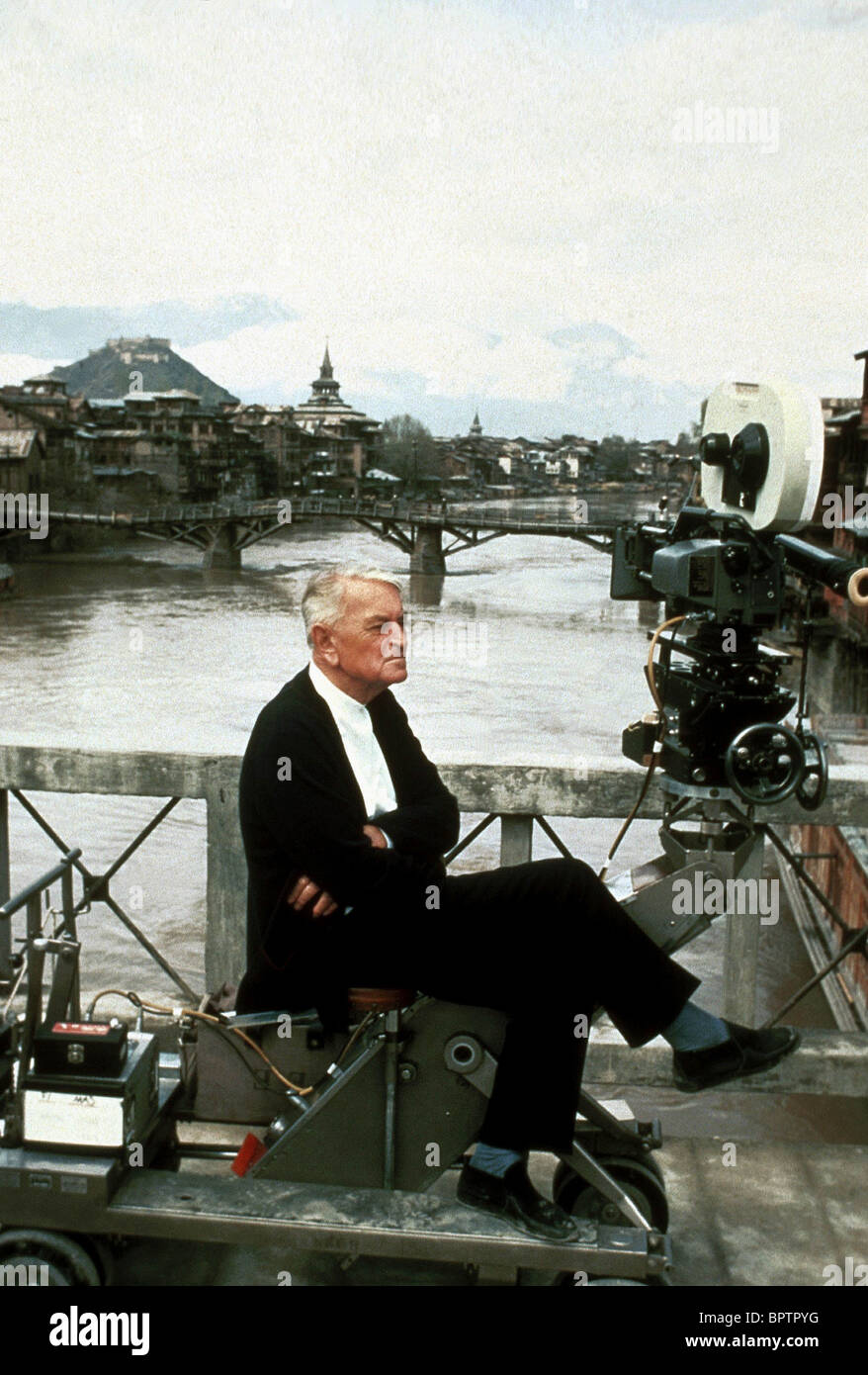 SIR DAVID LEAN A PASSAGE TO INDIA (1984) - Stock Image