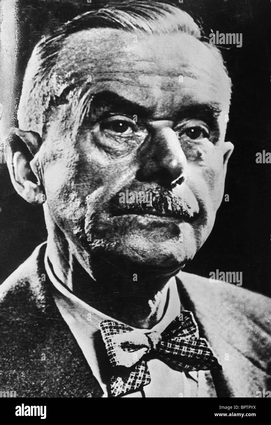 THOMAS MANN WRITER (1925) - Stock Image