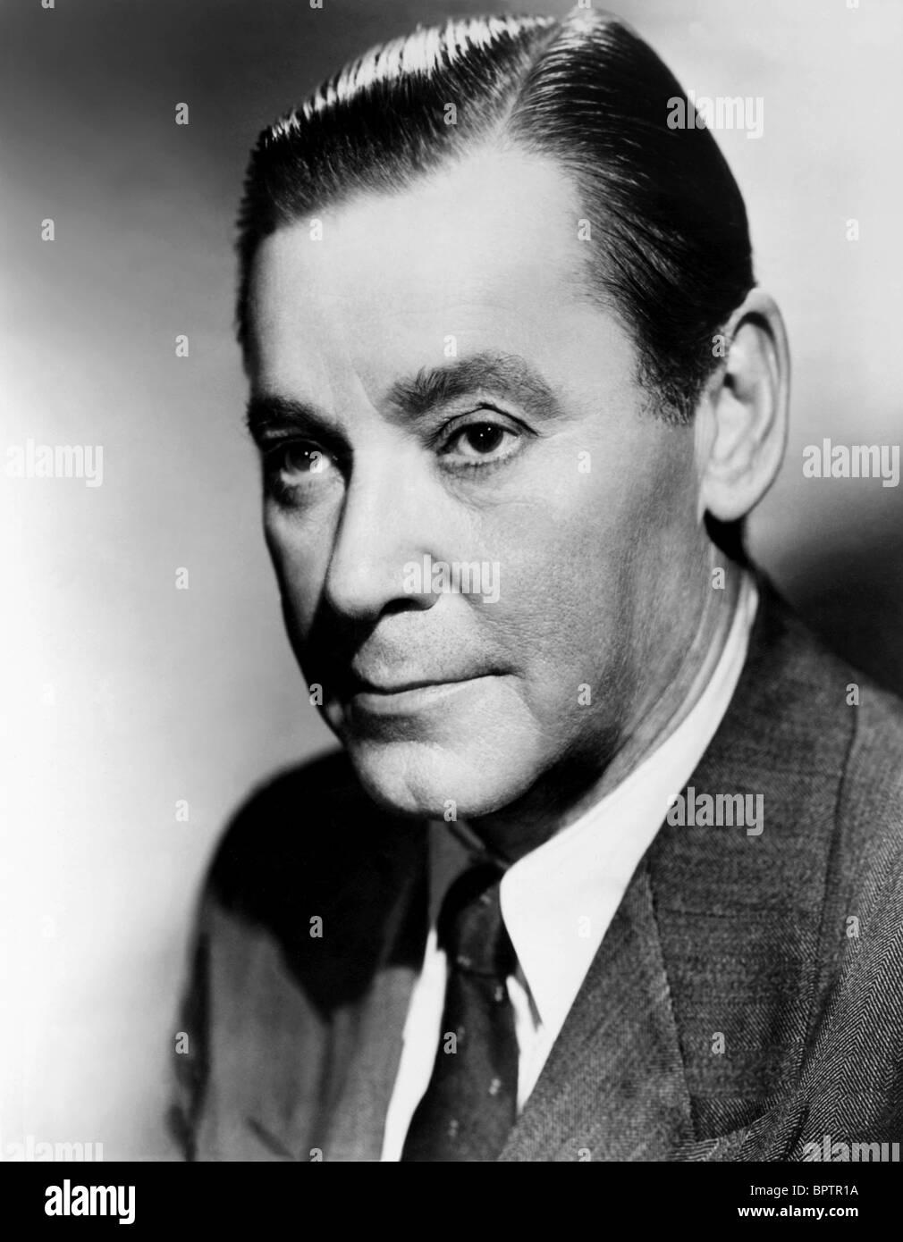HERBERT MARSHALL ACTOR (1952) - Stock Image