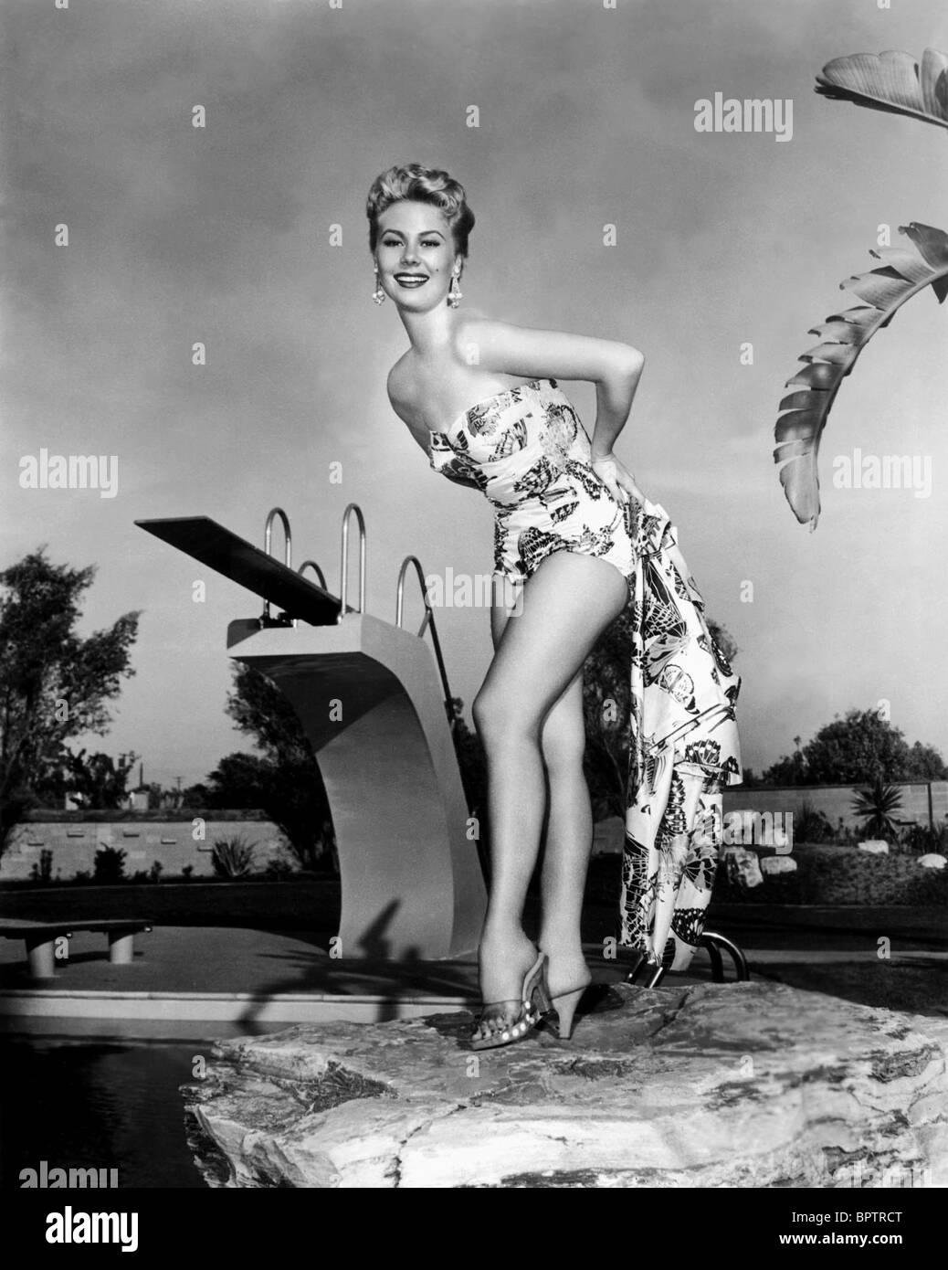 MITZI GAYNOR ACTRESS (1956) - Stock Image