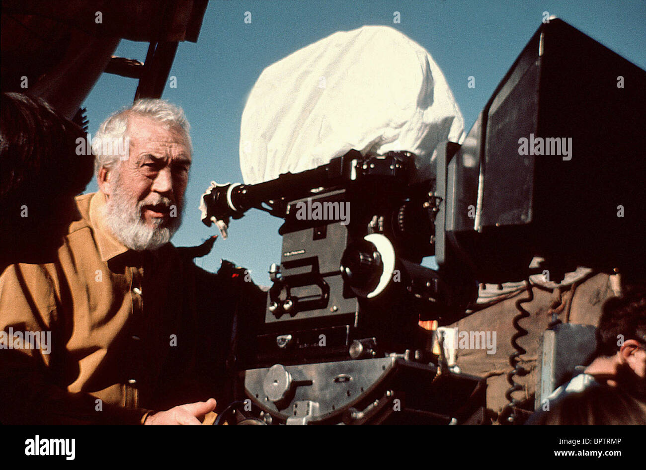 JOHN HUSTON DIRECTOR (1982) - Stock Image