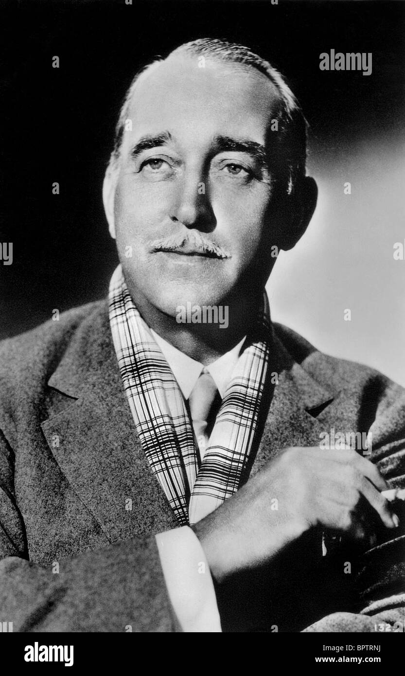 SIR GUY STANDING ACTOR (1937) - Stock Image