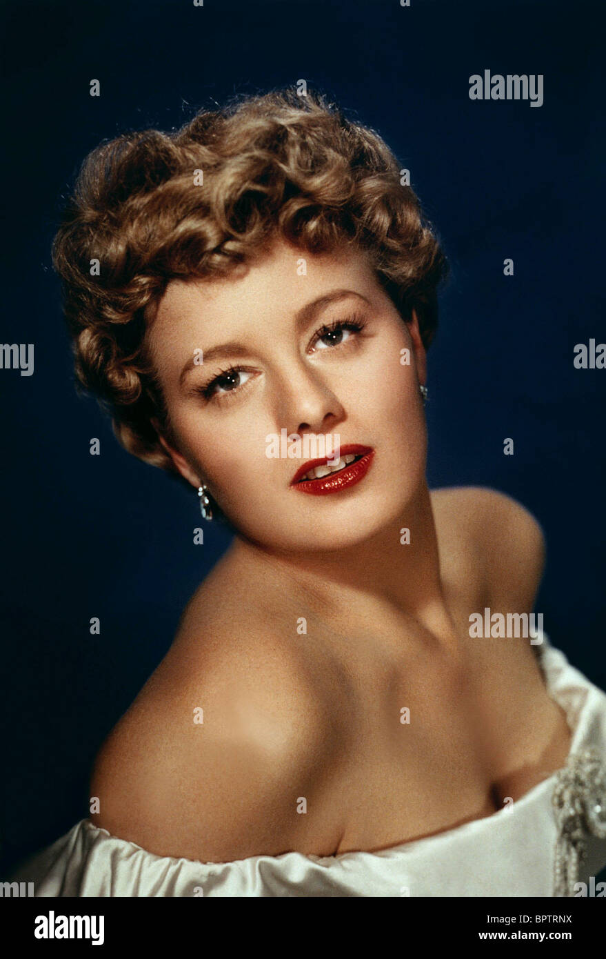 SHELLEY WINTERS ACTRESS (1953) - Stock Image