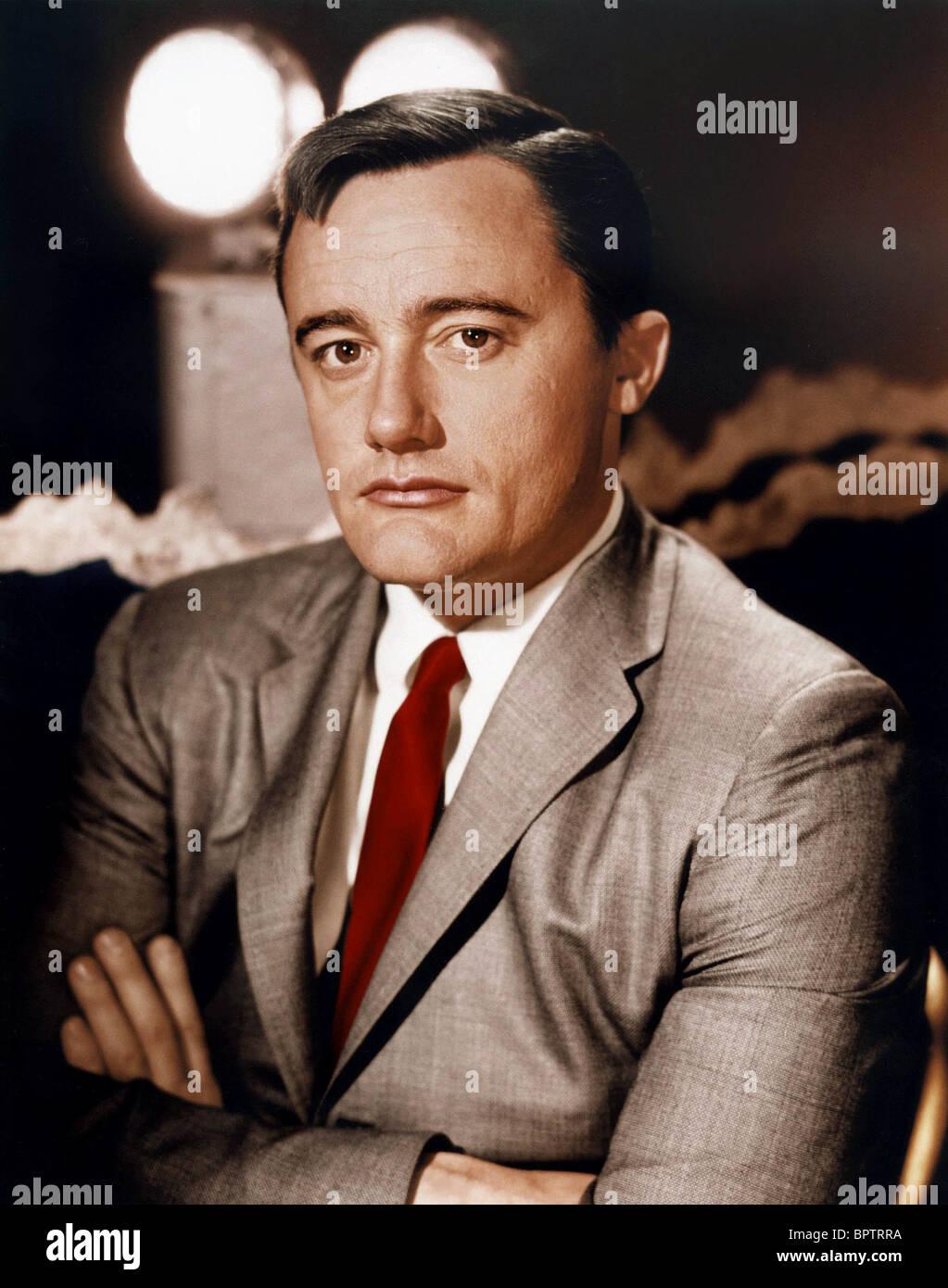 ROBERT VAUGHN ACTOR (1965) - Stock Image