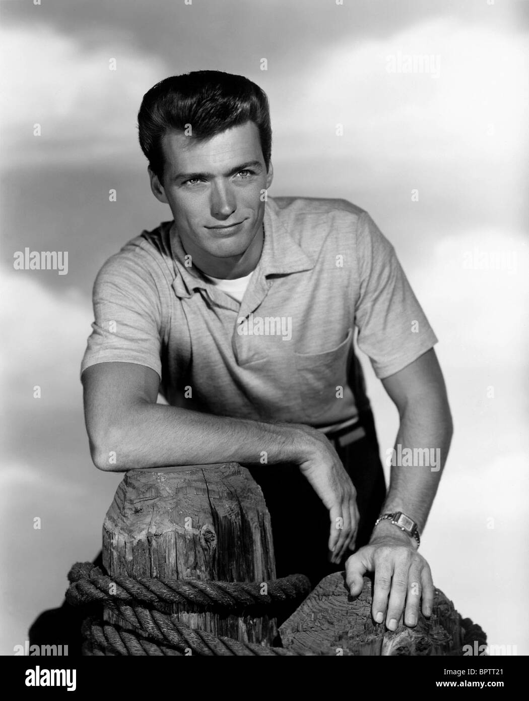 CLINT EASTWOOD ACTOR (1956) - Stock Image