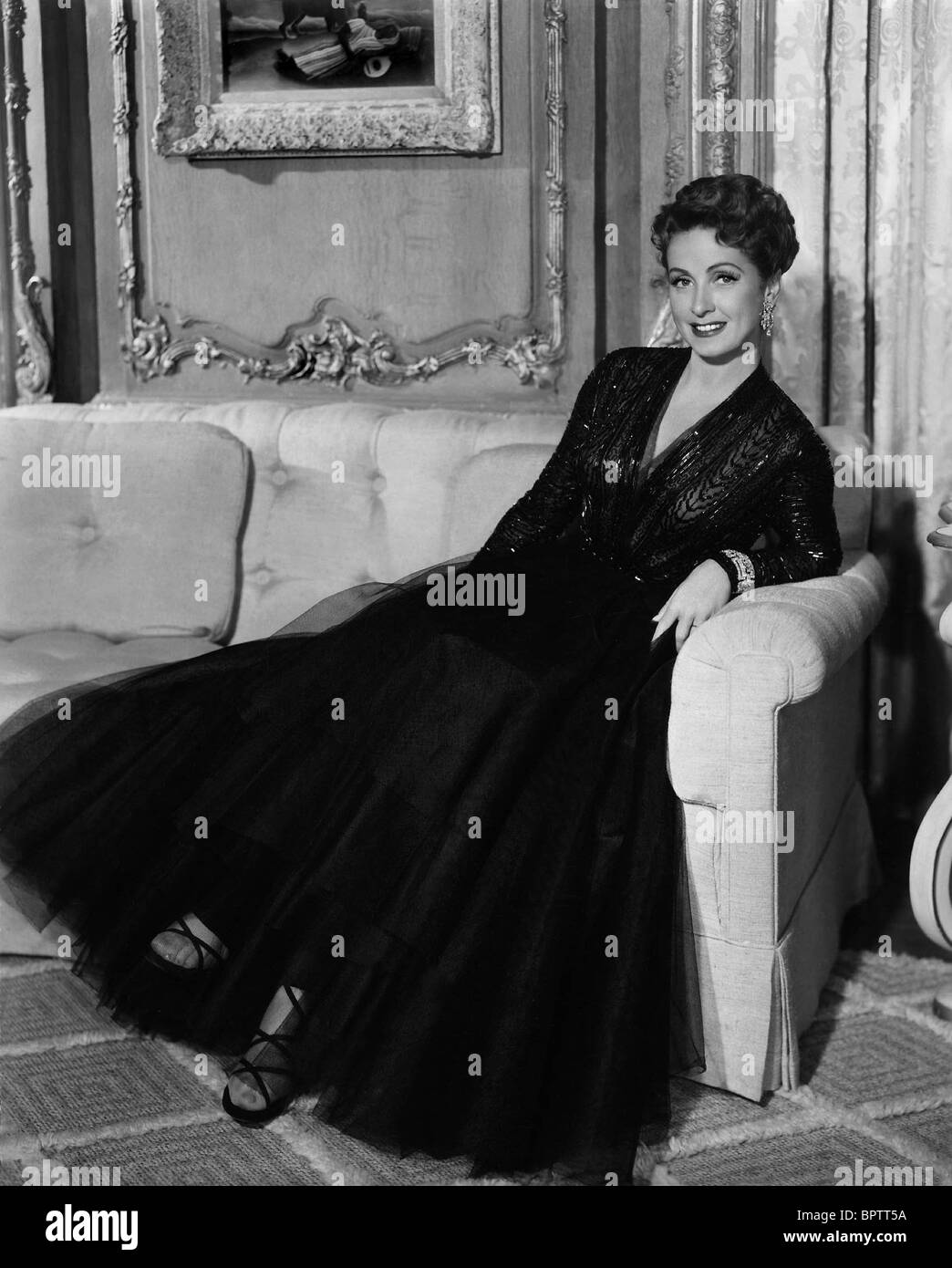 DANIELLE DARRIEUX ACTRESS (1950) - Stock Image