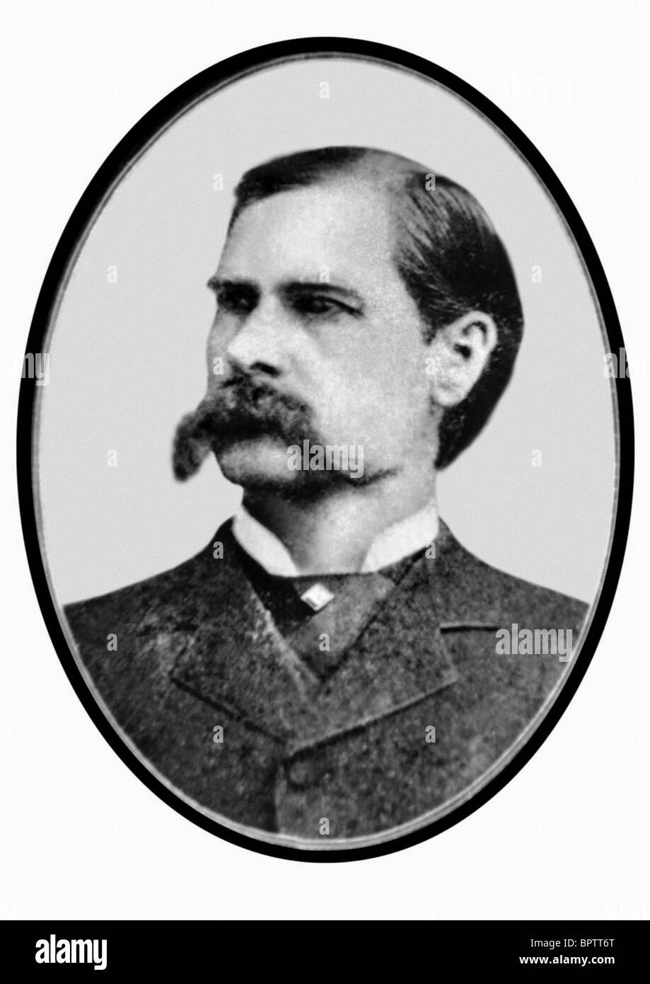 WYATT EARP US MARSHALL (1900) - Stock Image