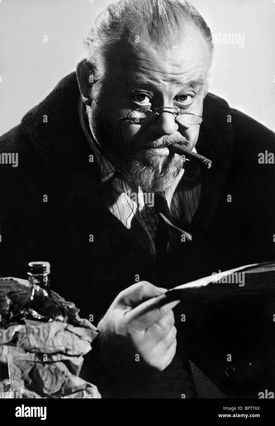 BURL IVES ACTOR (1954) - Stock Image