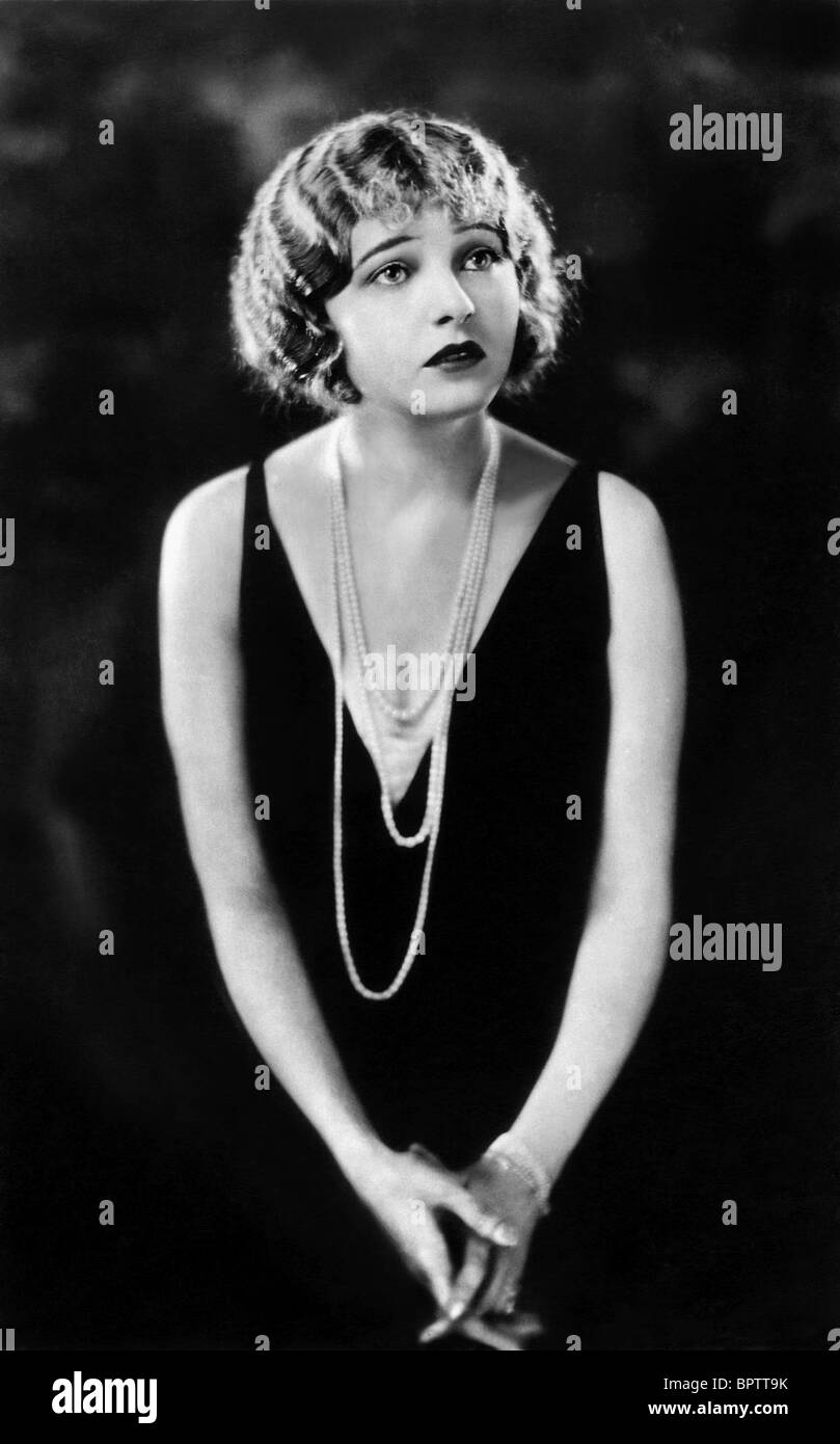 CORINNE GRIFFITH ACTRESS (1927) - Stock Image