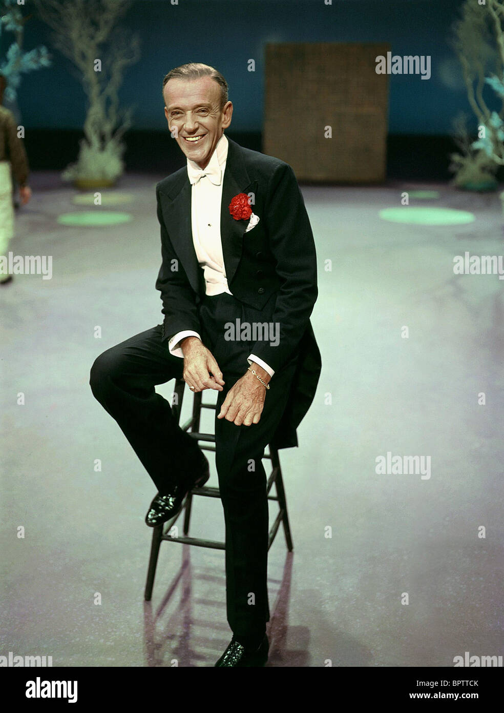 FRED ASTAIRE ACTOR AND DANCER (1955) - Stock Image