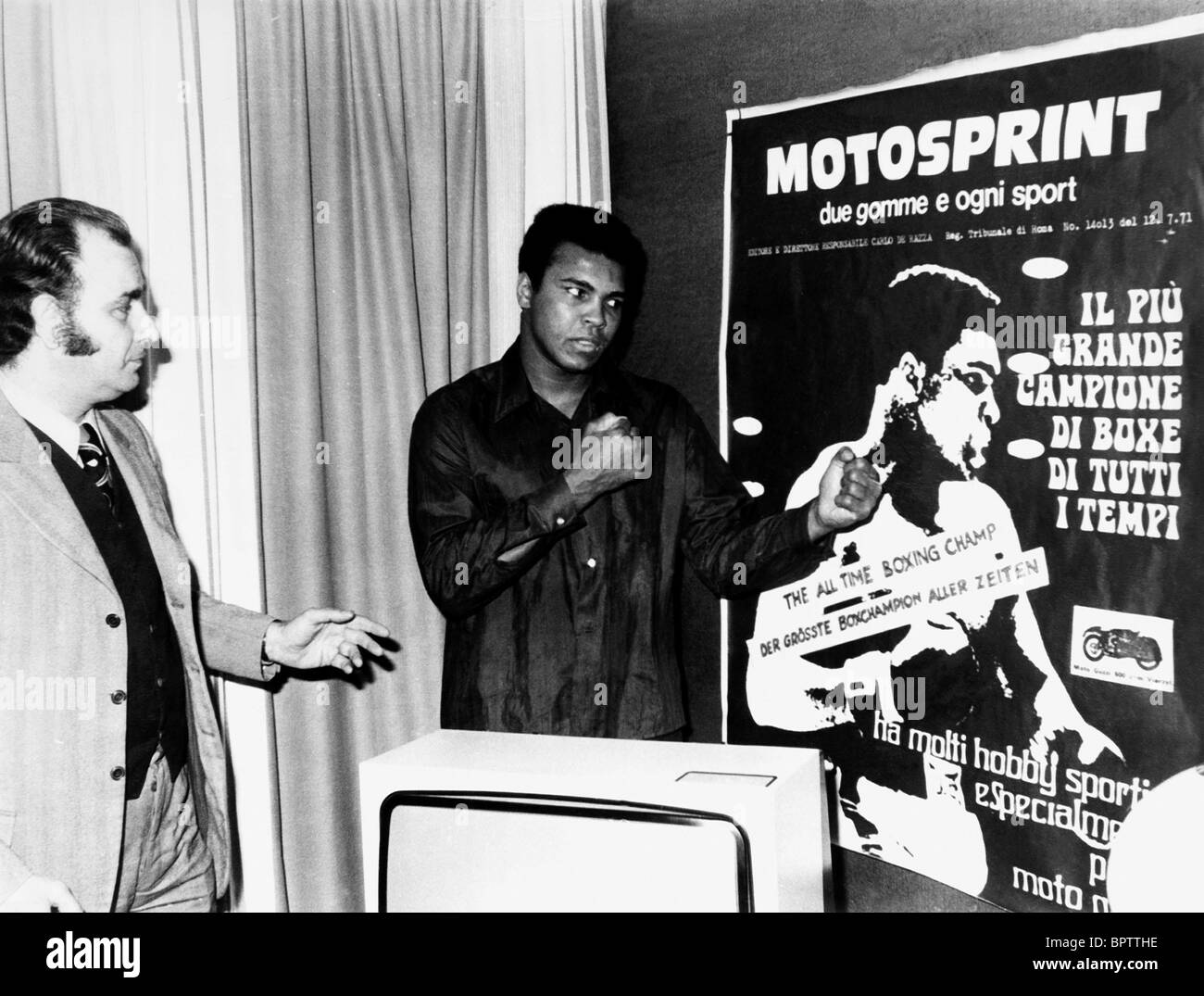 MUHAMMAD ALI HEAVYWEIGHT BOXER (1971) - Stock Image