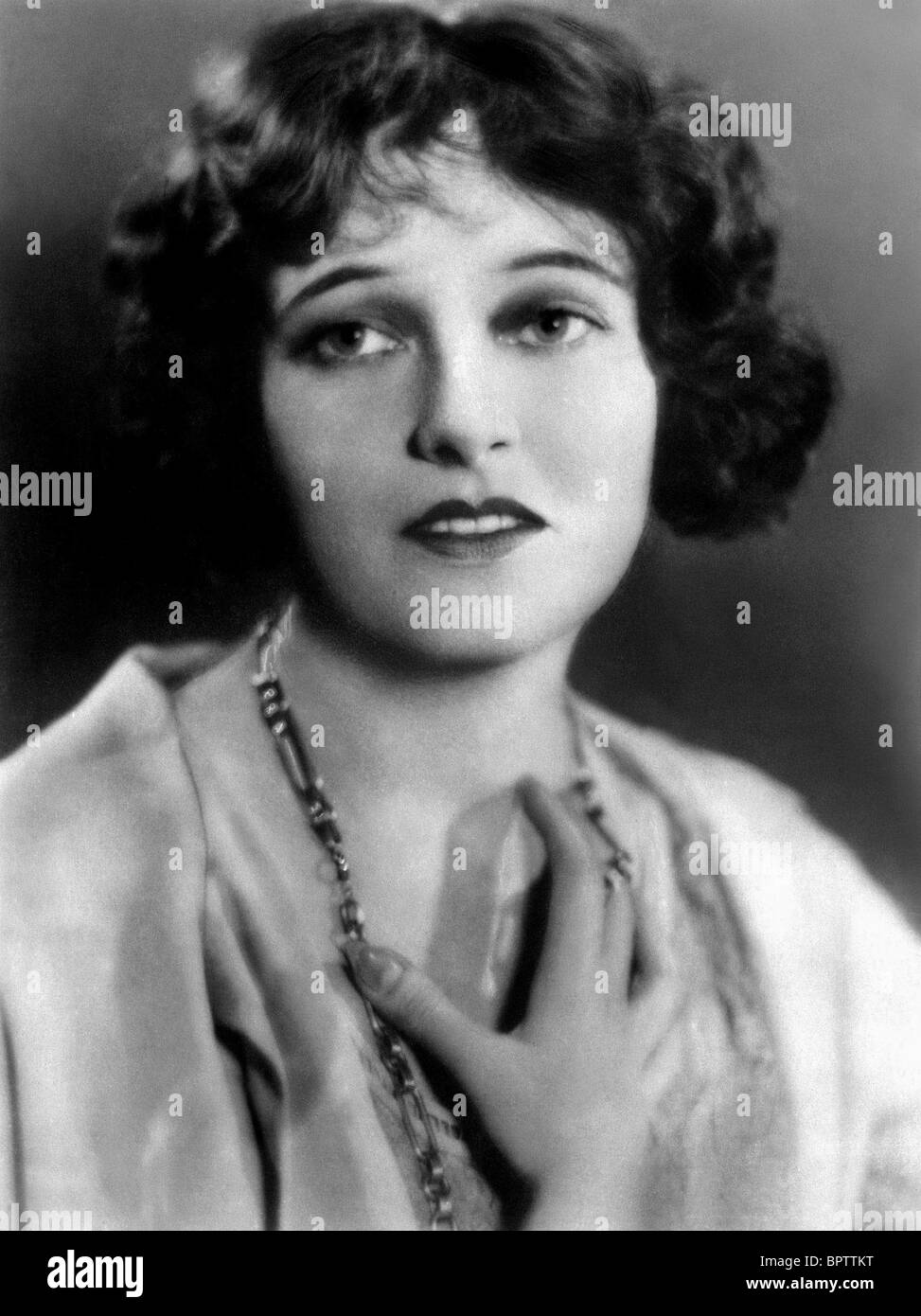 CORINNE GRIFFITH ACTRESS (1928) - Stock Image
