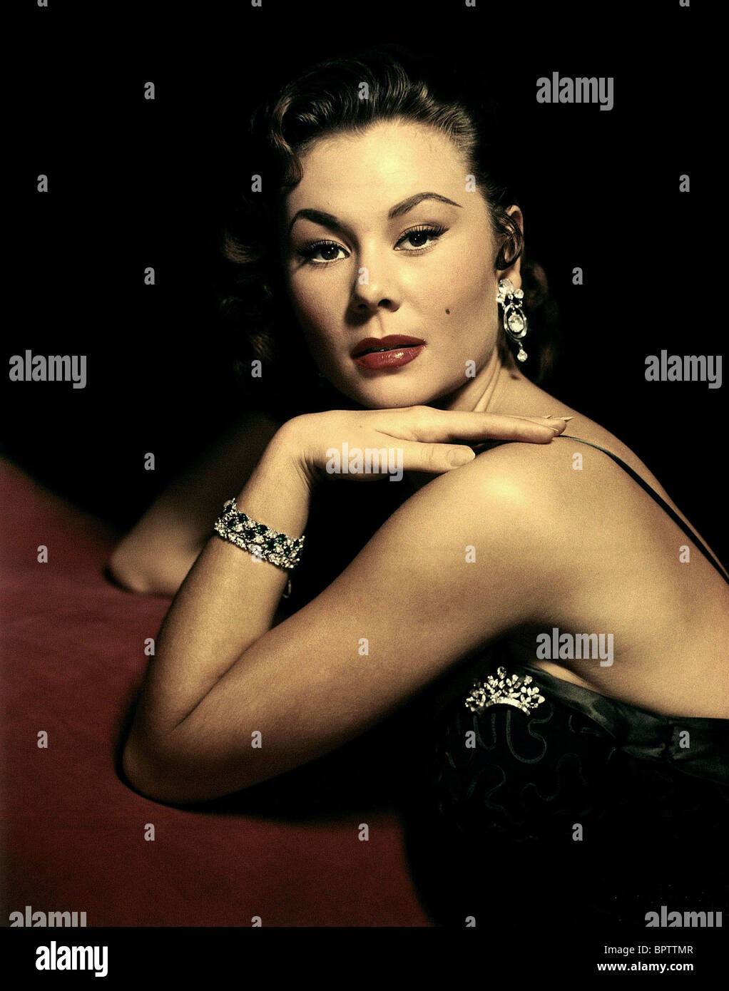 MITZI GAYNOR ACTRESS (1956) - Stock Image