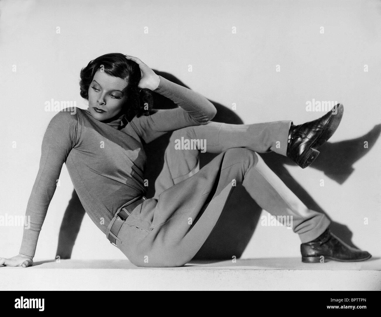 KATHARINE HEPBURN ACTRESS (1936) - Stock Image