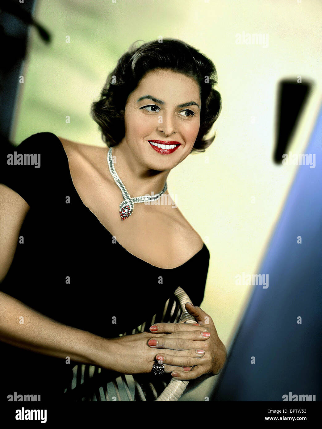 INGRID BERGMAN ACTRESS (1956) - Stock Image