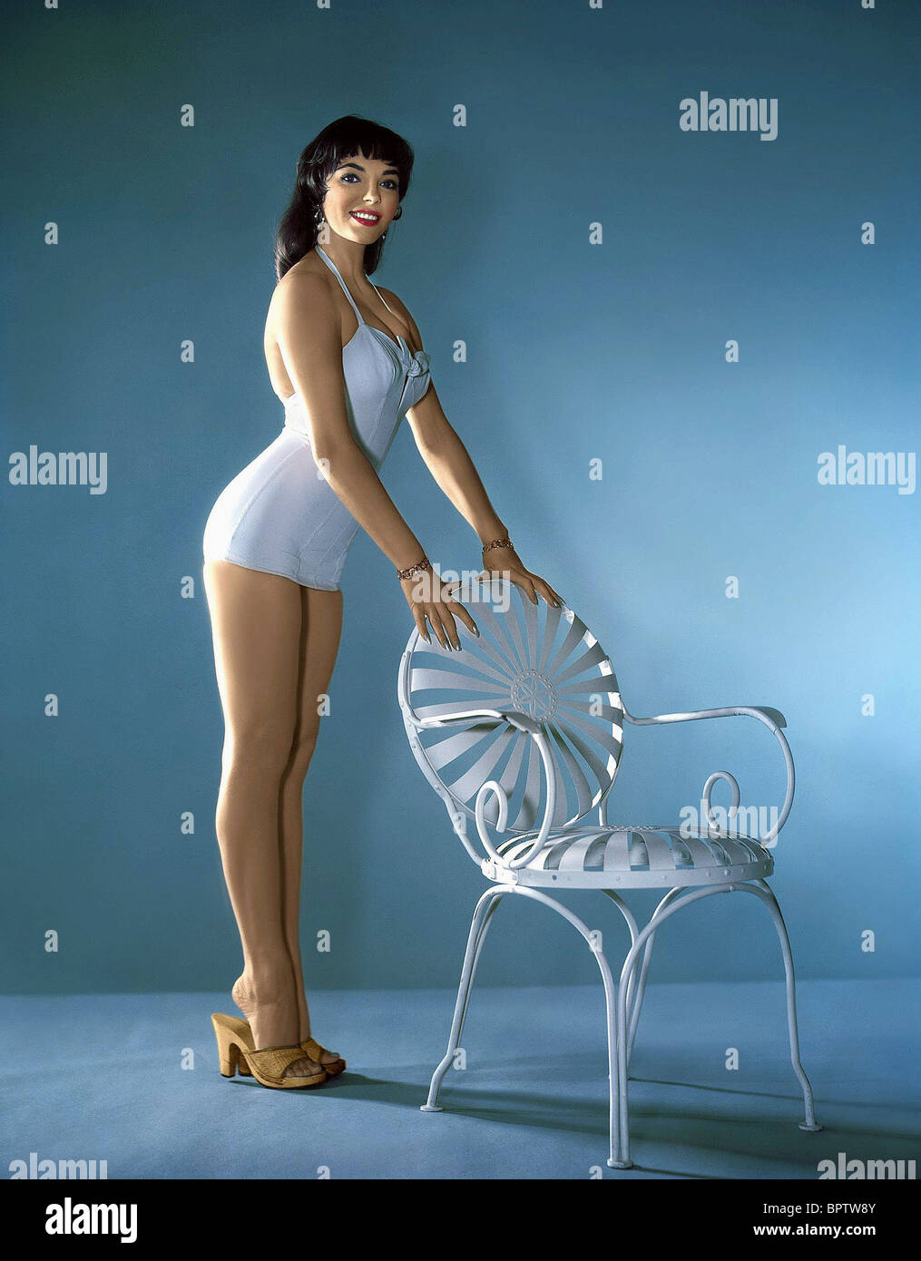 JOAN COLLINS ACTRESS (1956) - Stock Image
