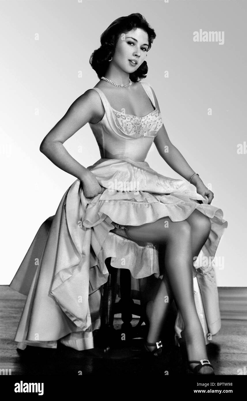 DANY CARREL ACTRESS (1956) Stock Photo
