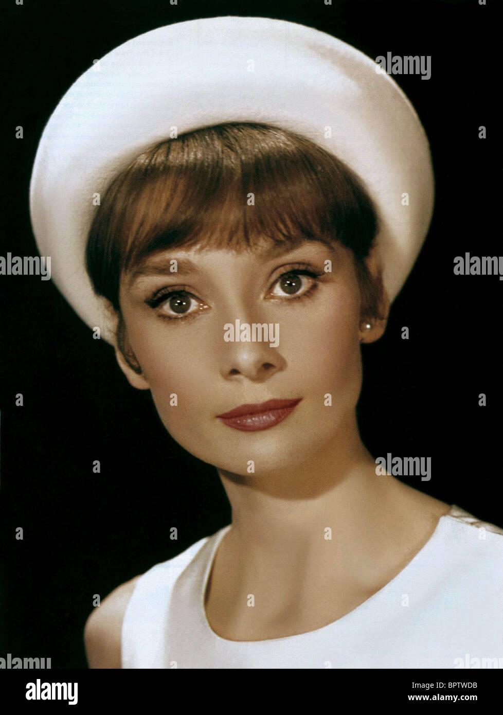 AUDREY HEPBURN ACTRESS (1960) - Stock Image