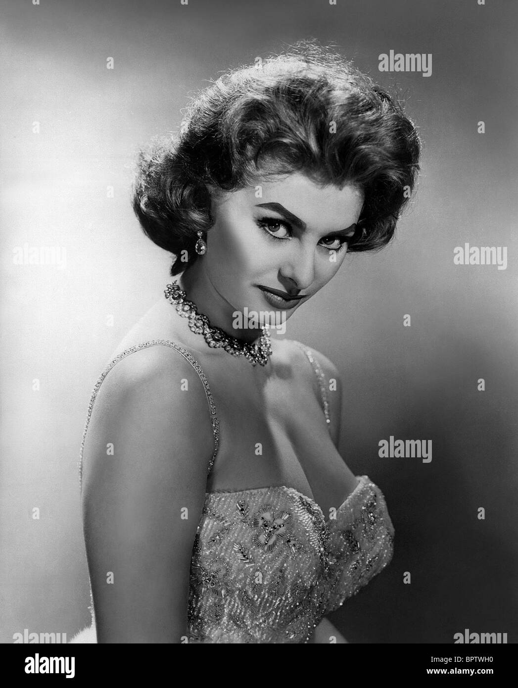 SOPHIA LOREN ACTRESS (1956) - Stock Image