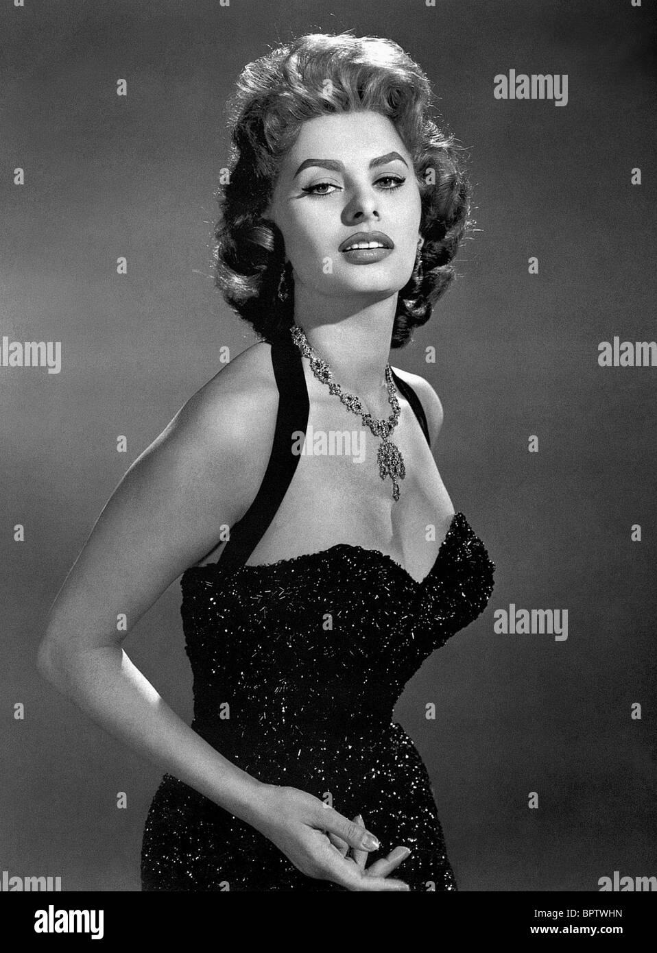 SOPHIA LOREN ACTRESS (1956) - Stock Image