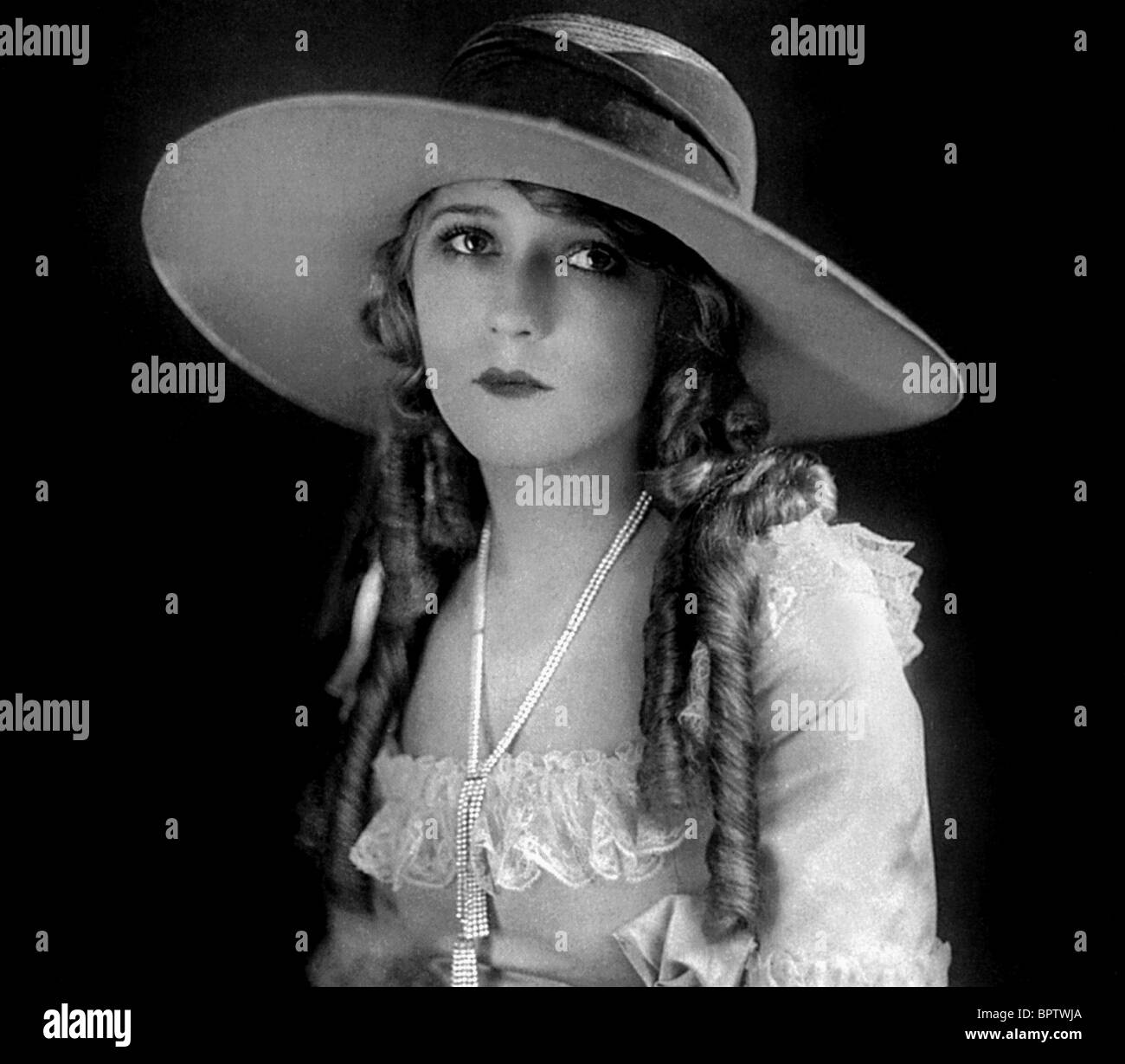 MARY PICKFORD ACTRESS (1918) - Stock Image