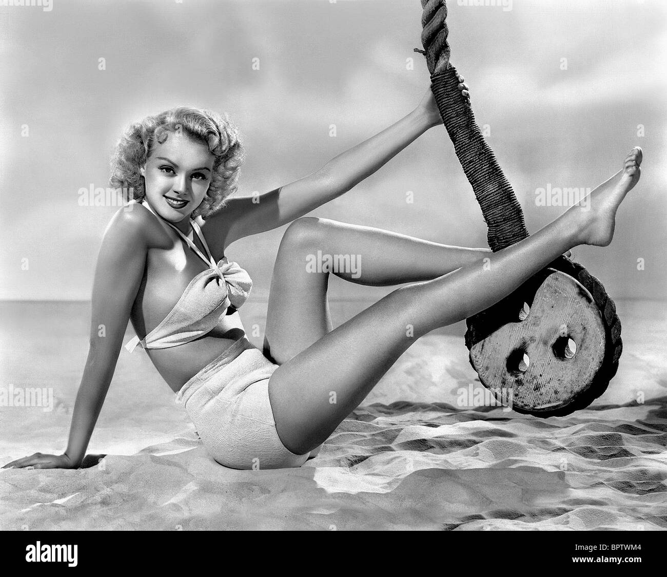 LESLIE BROOKS ACTRESS (1942) - Stock Image