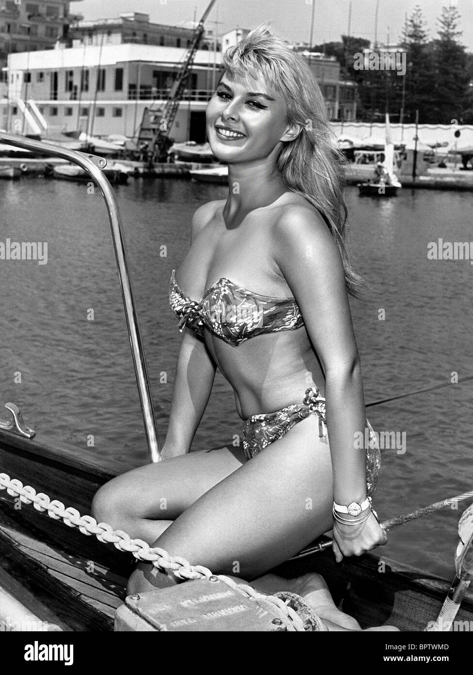 MARISA ALLASIO ACTRESS (1957) - Stock Image