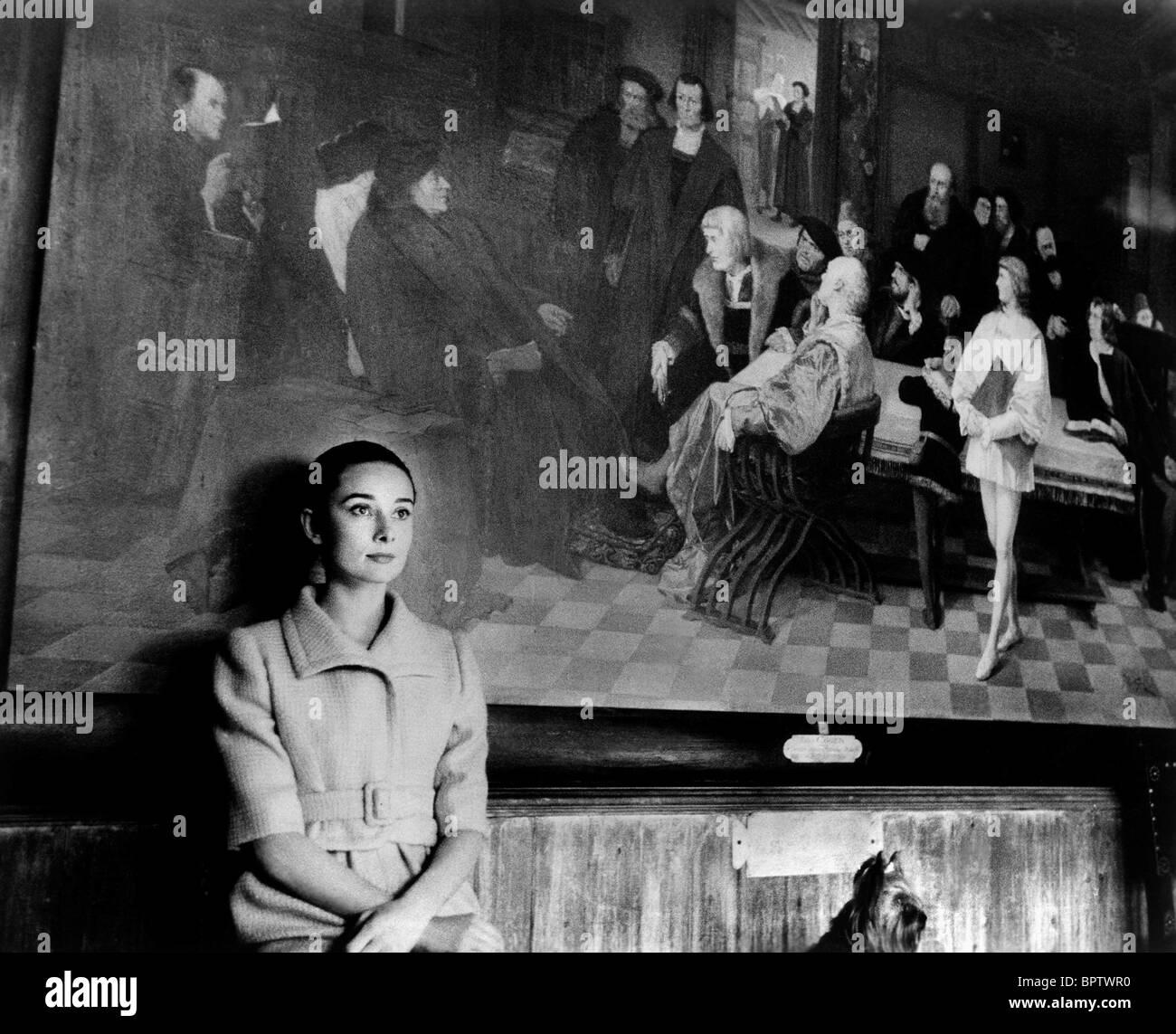 AUDREY HEPBURN ACTRESS (1969) - Stock Image