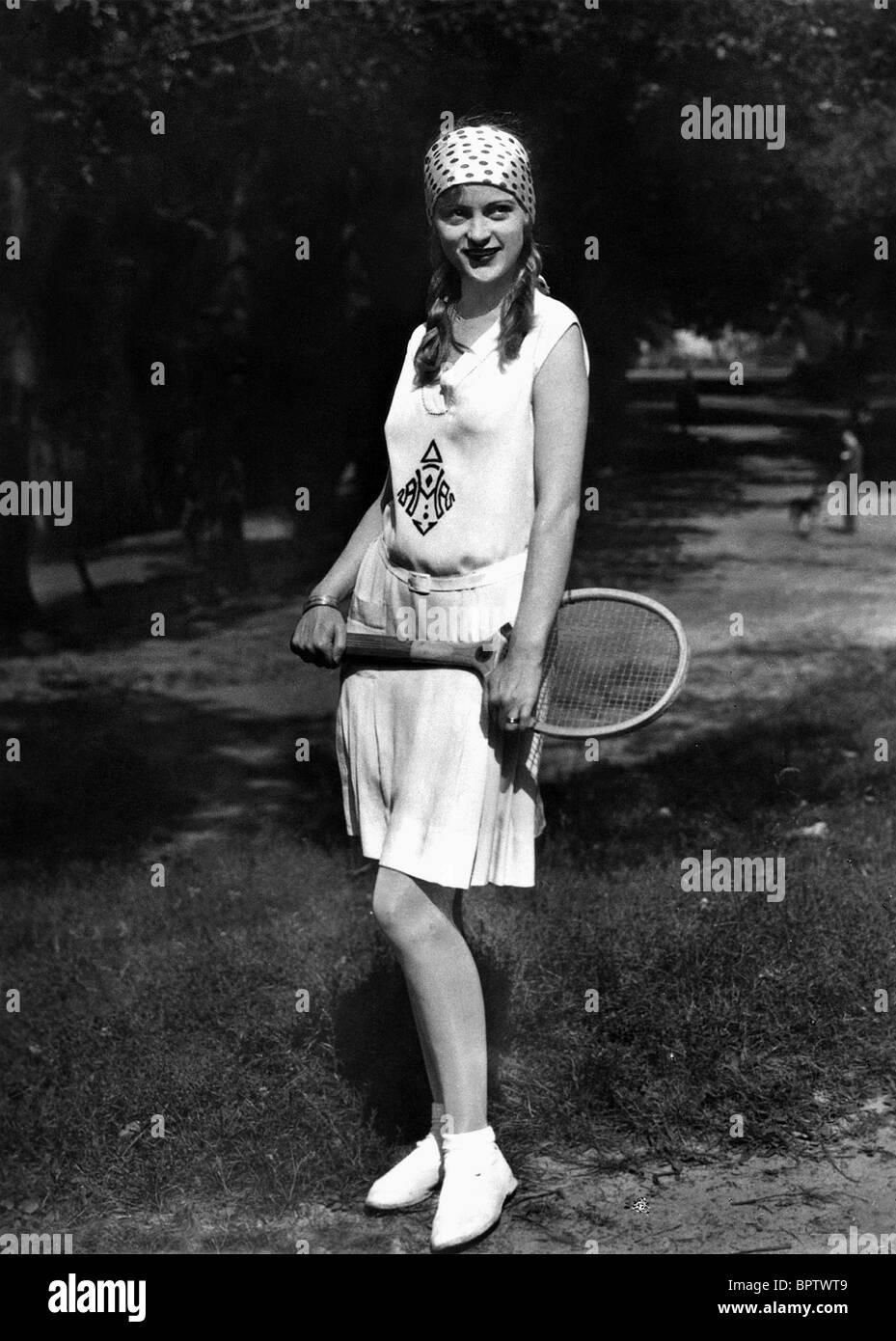 CAMILLA HORN ACTRESS (1921) - Stock Image