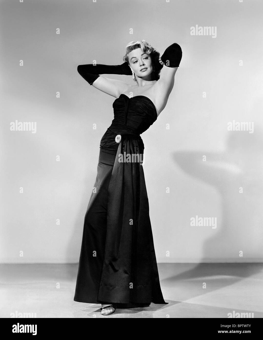DOROTHY MALONE ACTRESS (1956) - Stock Image