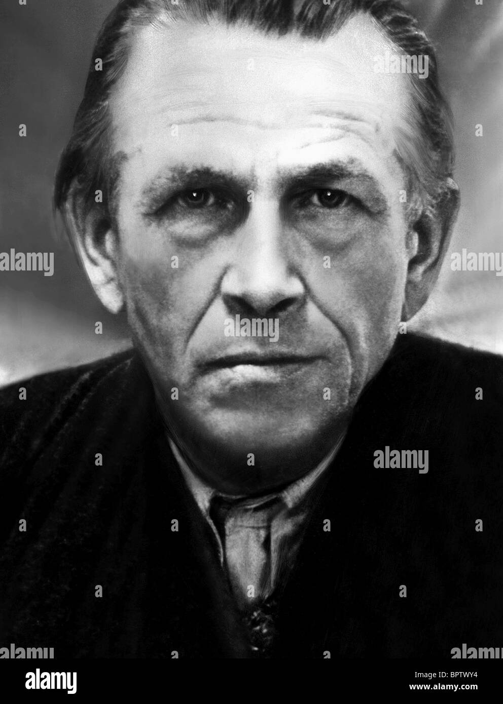 OTTO DIX PAINTER (1896) - Stock Image