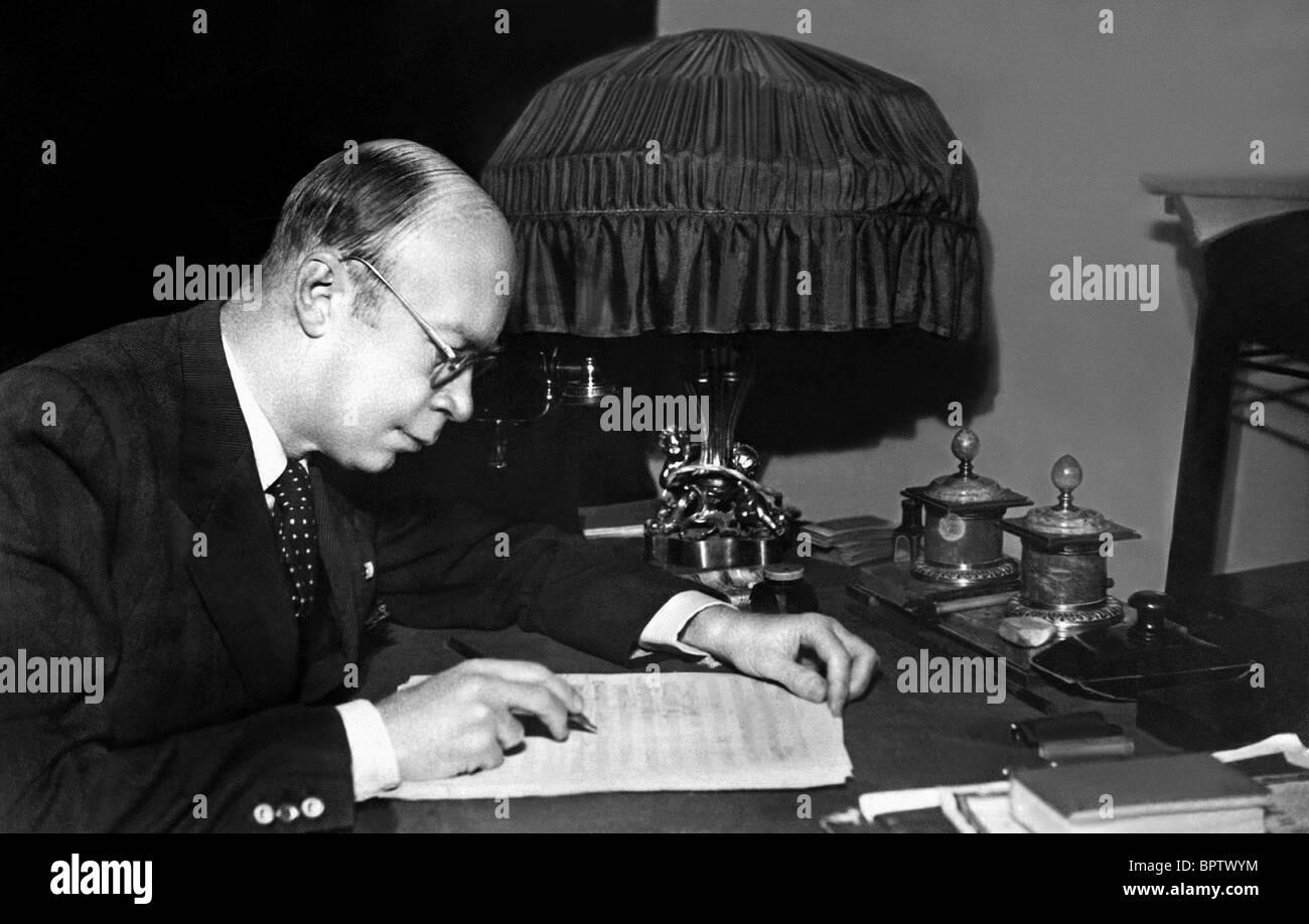 SERGEI PROKOFIEV MUSIC COMPOSER (1931) - Stock Image