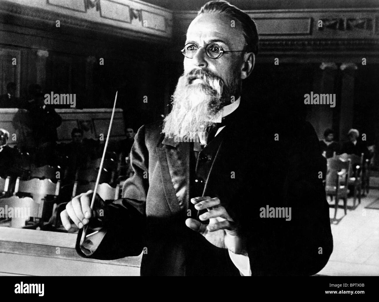 NIKOLAI RIMSKY-KORSAKOV MUSIC COMPOSER (1903) - Stock Image