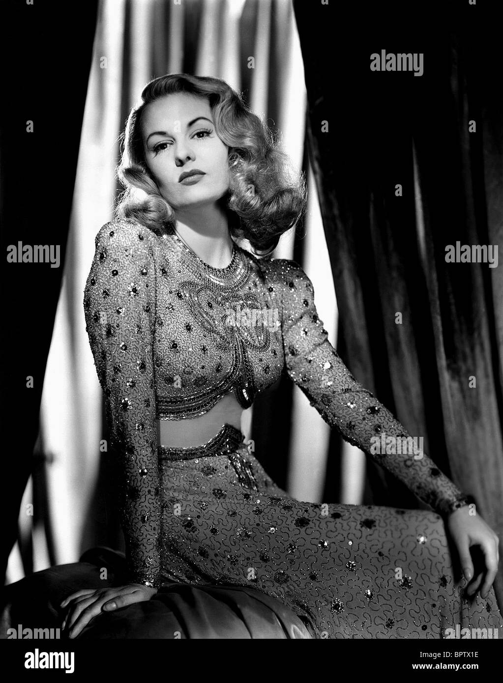 SALLY GRAY ACTRESS (1946) - Stock Image
