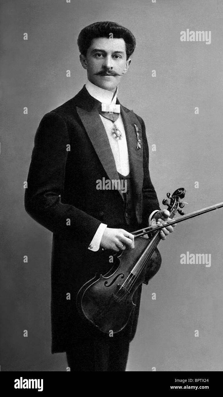 JOHANN STRAUSS MUSIC COMPOSER (1845) Stock Photo