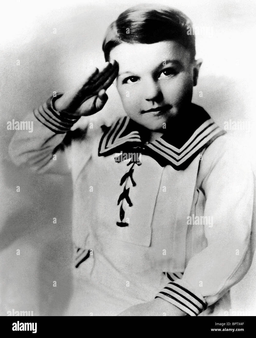 GENE KELLY AS A CHILD ACTOR (1916) - Stock Image