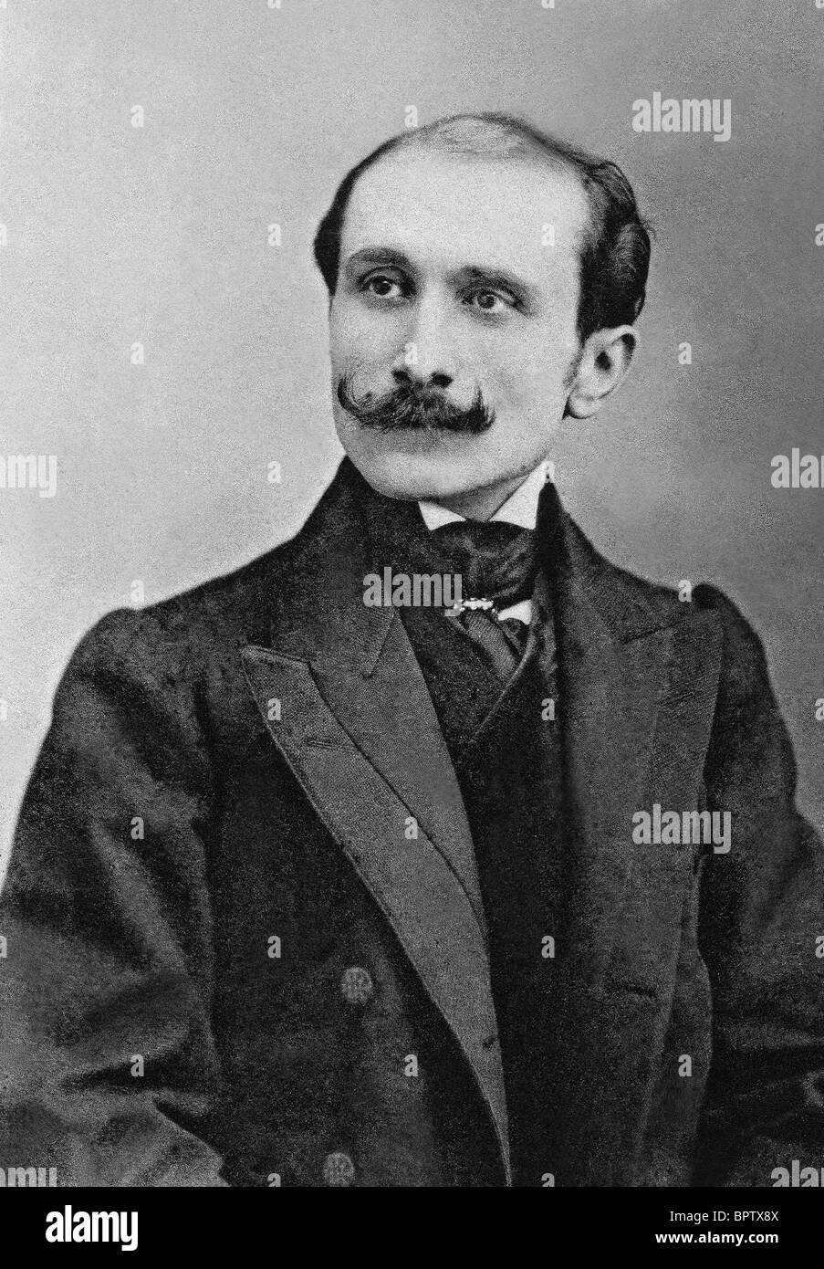 EDMOND ROSTAND WRITER (1918) - Stock Image