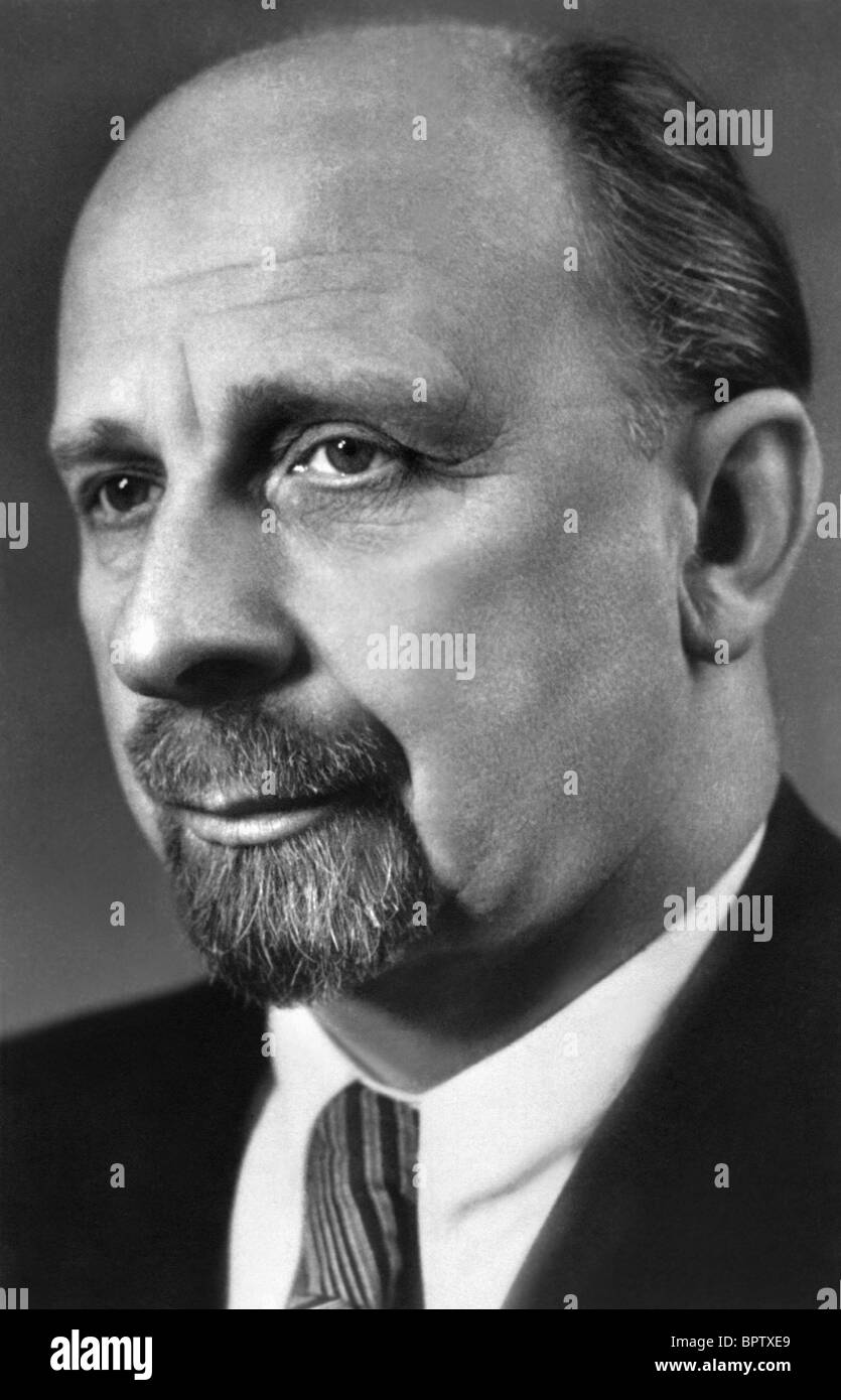 WALTER ULBRICHT LEADER OF EAST GERMANY 1960-73 (1964) - Stock Image