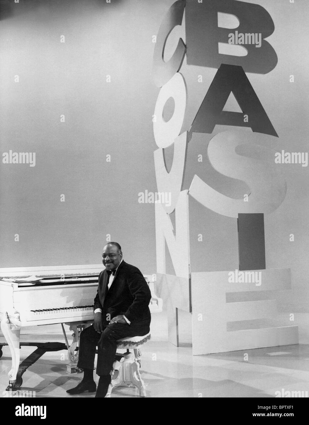 COUNT BASIE JAZZ MUSICIAN (1965) - Stock Image