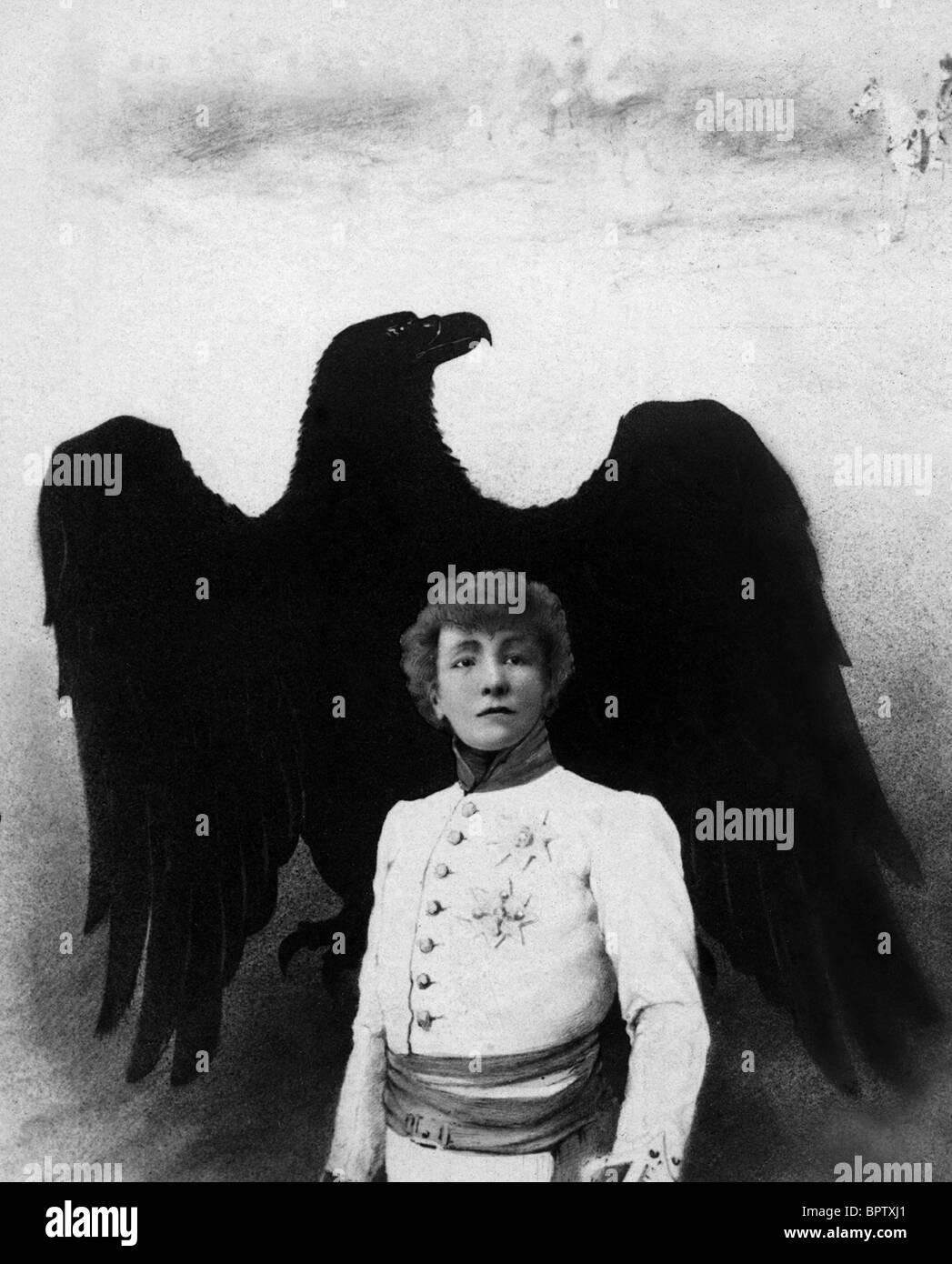 SARAH BERNHARDT ACTRESS (1900) - Stock Image
