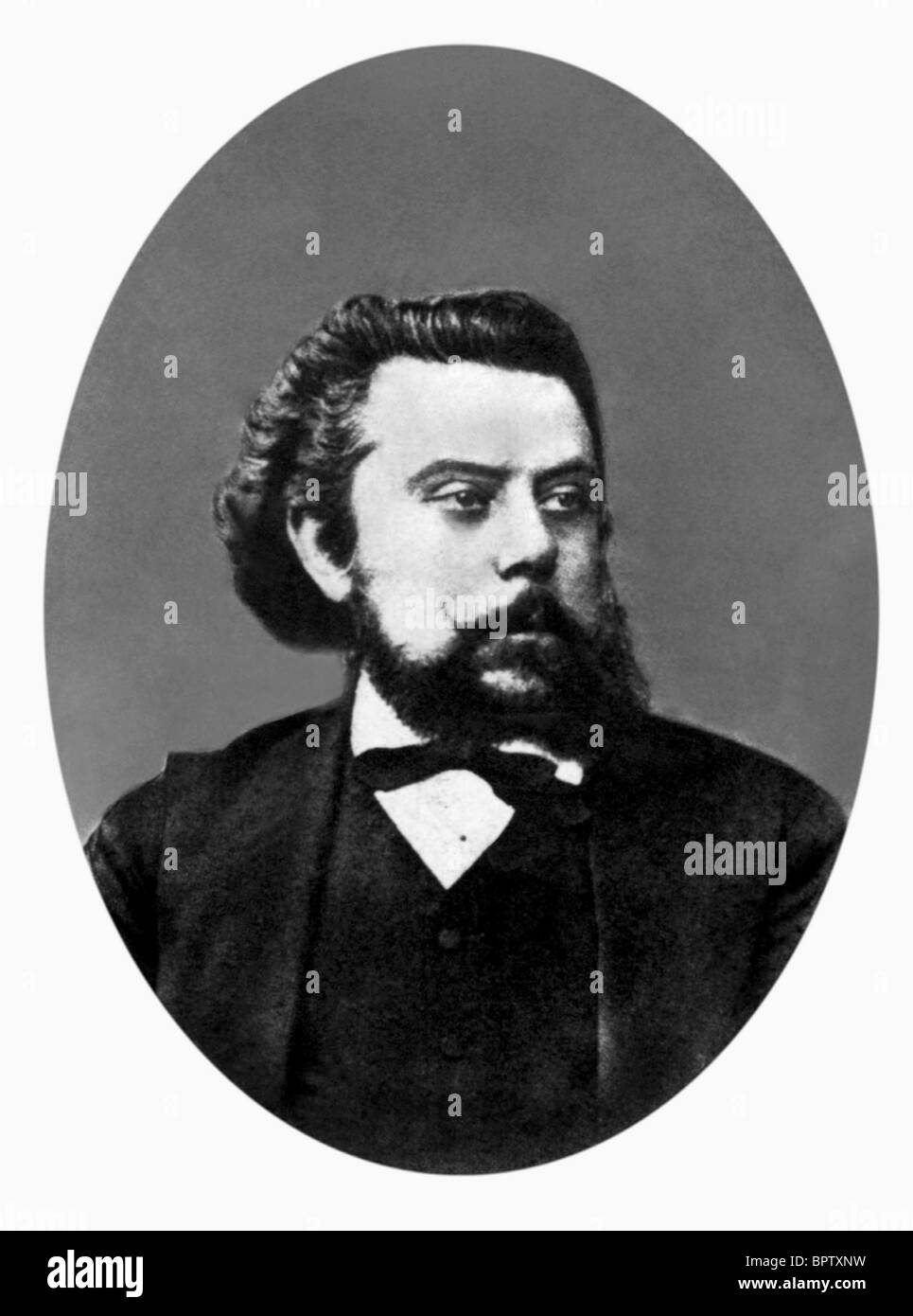 MODEST MUSSORGSKY MUSIC COMPOSER (1878) - Stock Image