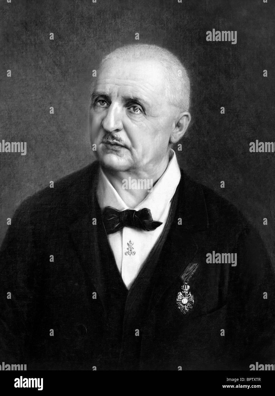 ANTON BRUCKNER MUSIC COMPOSER (1886) - Stock Image