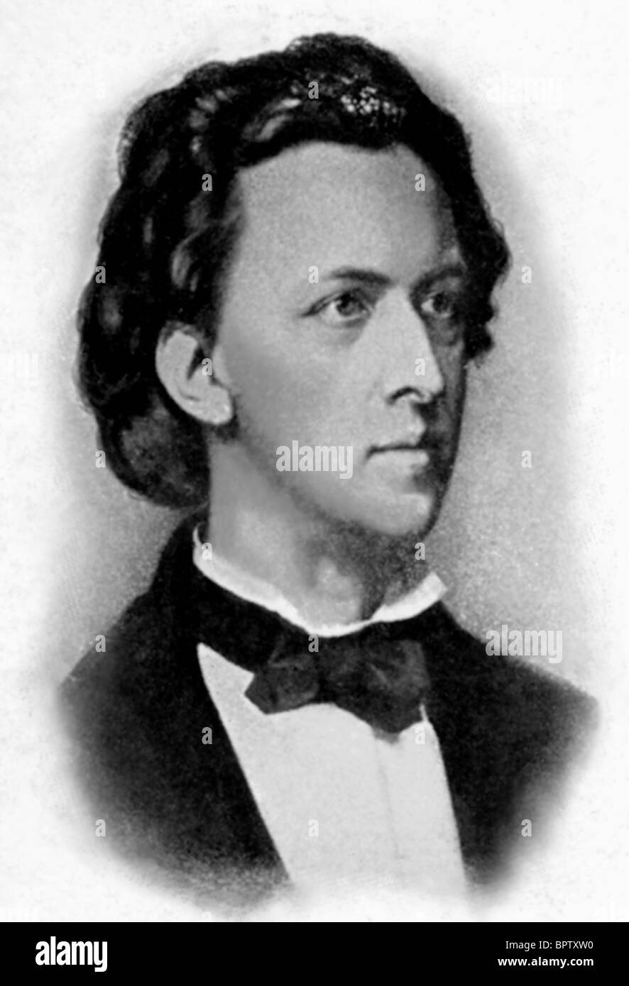 FREDERIC CHOPIN MUSIC COMPOSER (1938) - Stock Image
