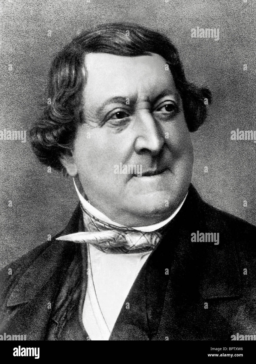 GIOACCHINO ROSSINI MUSIC COMPOSER (1830) - Stock Image