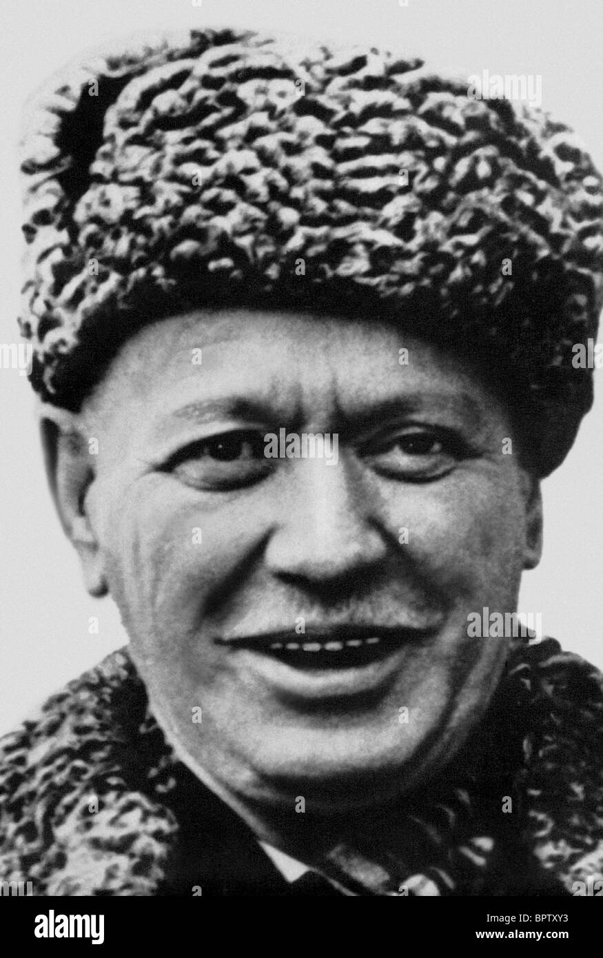 MIKHAIL SHOLOKHOV WRITER & NOBEL PRIZE FOR LITERATURE 1965 (1965) - Stock Image