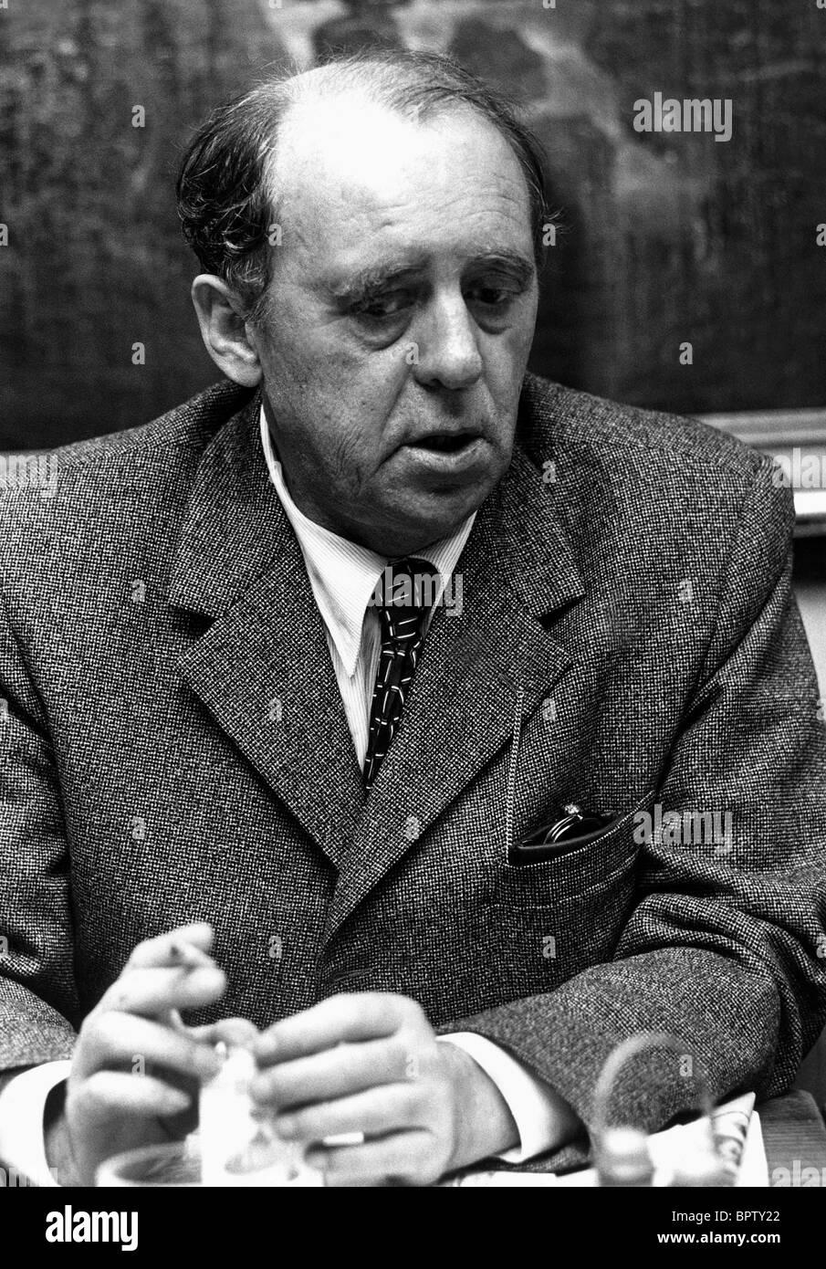 HEINRICH BOLL WRITER (1969) - Stock Image