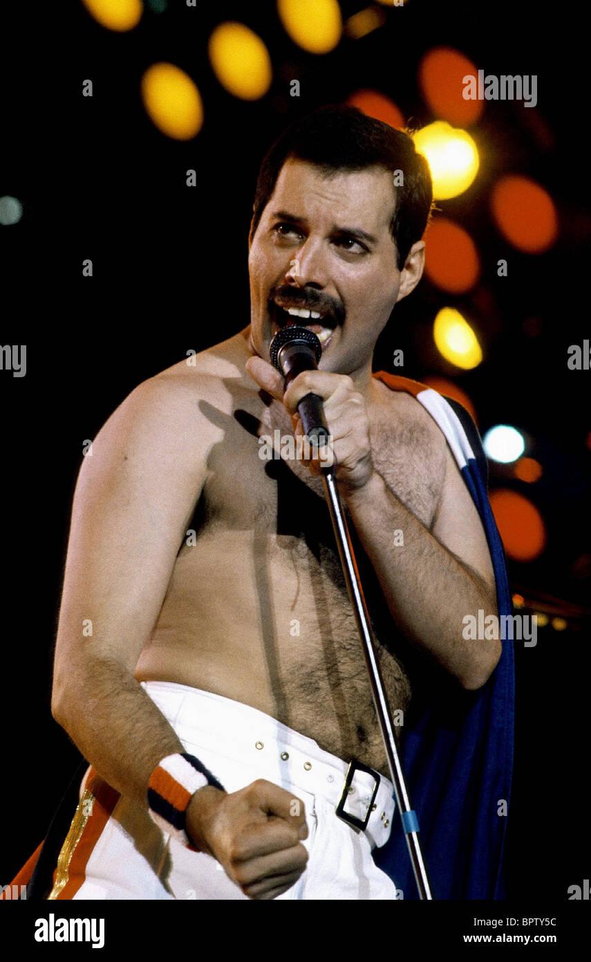 FREDDIE MERCURY SINGER QUEEN (1980) - Stock Image