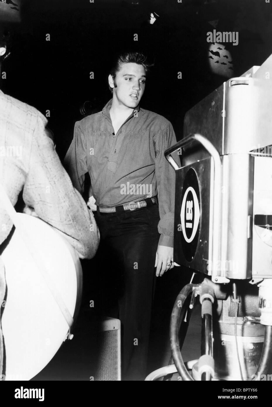 ELVIS PRESLEY ACTOR (1956) Stock Photo
